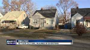 10-year-old girl injured in Inkster shooting [Video]