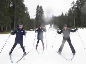 Cross-Country Skiing Lessons with Top Olympians at the Youth Olympics [Video]