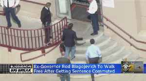 Disgraced Ex-Governor Rod Blagojevich Gets His Prison Sentence Commuted [Video]