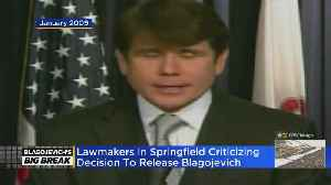 Springfield Lawmakers Slam Blagojevich Commutation [Video]
