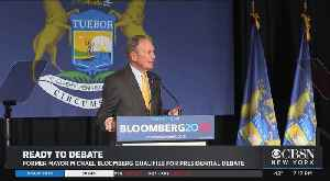 Former Mayor Michael Bloomberg Qualifies For Presidential Debate [Video]