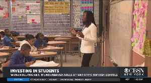 News video: Black History Month: Woman Helping Kids In Under-Served Areas Attend City's Top High Schools