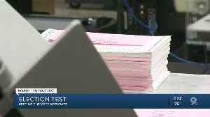 State officials test Pima Co election systems [Video]