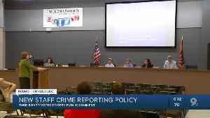 TUSD board tackling school crime reporting [Video]