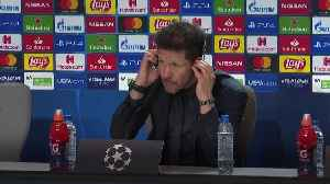 Diego Simeone 'not thinking of Anfield atmosphere' [Video]