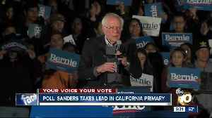 Poll: Sanders takes lead in California primary [Video]