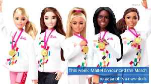 WEB EXTRA: Barbie Is Going To The Olympics [Video]