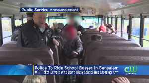 Bensalem Police Crack Down On Drivers Illegally Passing School Buses [Video]