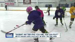 Data shows girls hockey in Western New York on the rise [Video]