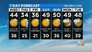 New York Weather: CBS2 2/18 Nightly Forecast at 11PM [Video]