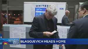 Rod Blagojevich Flies Out Of Denver After Sentence Is Commuted [Video]