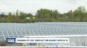Niagara County pushing to change state laws that help solar and wind developers [Video]
