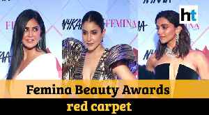 Deepika Padukone, Katrina Kaif dazzle at red carpet of Femina Beauty Awards 2020 [Video]