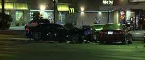 Four people hurt in multi-vehicle crash [Video]