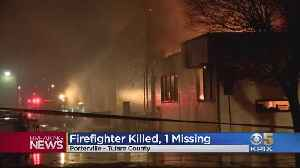 1 Firefighter Killed, 1 Missing In Blaze At Tulare County Library [Video]