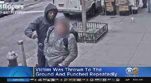 Suspect Wanted In Random Attack [Video]