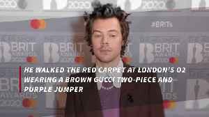 Harry Styles had yellow suit wish [Video]