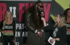 Deontay Wilder and Tyson Fury touch down in Las Vegas for much anticipated rematch