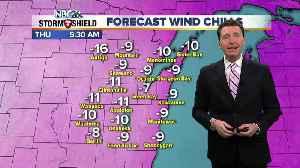 Michael Fish's NBC 26 weather forecast [Video]