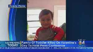 Family Of Toddler Killed In Valentine's Day Crash To File Lawsuits [Video]