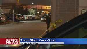 Three People Shot, One Dead, In Overnight Denver Tech Center Shooting [Video]