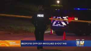 Police Chase In Bedford Ends With Suspect Shot, Officer Injured [Video]