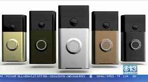 Moneywatch: Amazon Tightening Security On Ring Cameras [Video]