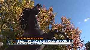 BSU rural scholarship [Video]