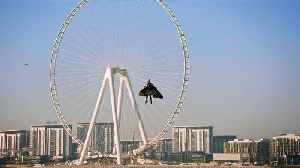 One step closer to autonomous human flight: Jetman flies 1,800m above Dubai [Video]
