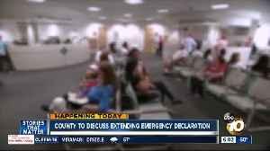 County leaders to consider extending coronavirus emergency declaration [Video]