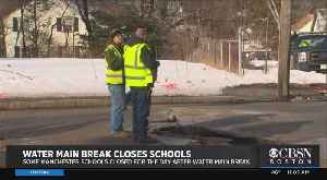 Several Manchester, NH Schools Closed After Water Main Break [Video]