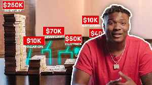 How Dwayne Haskins Spent His First $1M in the NFL [Video]