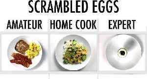 4 Levels of Scrambled Eggs: Amateur to Food Scientist [Video]