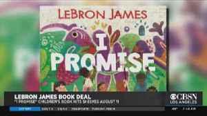 LeBron James Announces Book Deal [Video]