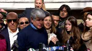 News video: Rod Blagojevich Calls Himself 'A Freed Political Prisoner' After Early Release From Prison