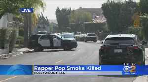 Rapper Pop Smoke Shot To Death In Hollywood Hills Home Invasion [Video]