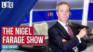 """Nigel Farage is """"over the moon"""" with new immigration system [Video]"""