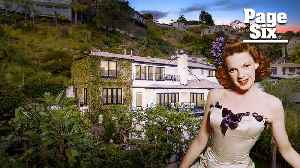 Judy Garland's house is for sale for a glamorous $6 million [Video]