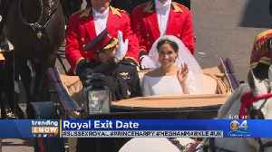 Trending Now: Royal Exit Date [Video]