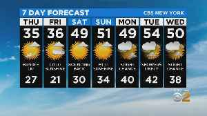 New York Weather: CBS2 2/19 Evening Forecast at 5PM [Video]