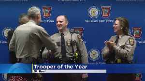 Minnesota State Patrol Honors Its Trooper Of The Year [Video]