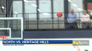 HS BB: Heritage Hills Top North; Patriots Win 12th Straight [Video]