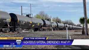 Chico fire hazardous materials 'training' [Video]