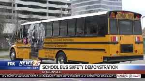 School bus safety demonstration [Video]