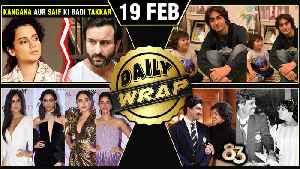 Katrina, Deepika Femina Awards, Ajay In Singham 3, Kangana VS Saif | Top 10 News [Video]