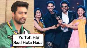 Filmfare Awards 2020   Vicky Kaushal REACTS To Awards Being Fixed   Bhoot Promotion [Video]