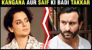 Kangana Ranaut To COMPETE With Saif Ali Khan After Rangoon Movie Failure [Video]