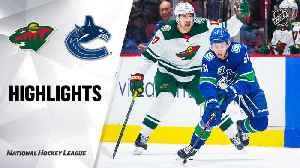 NHL Highlights | Wild @ Canucks 2/19/20 [Video]