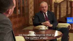 European ambassadors 'blocking' closer ties between EU and Moldova, says President Igor Dodon [Video]