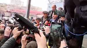 Georgia's former interior minister released from prison [Video]
